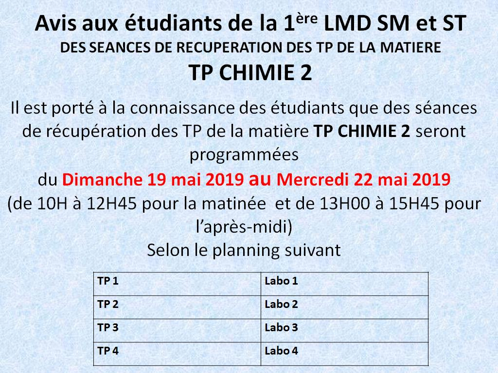 rttrapage tp chimie 2